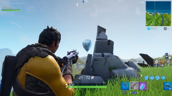 where to pop golden balloons in Fortnite