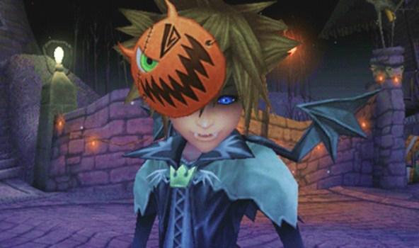 12. Vampire Sora - Halloween Town