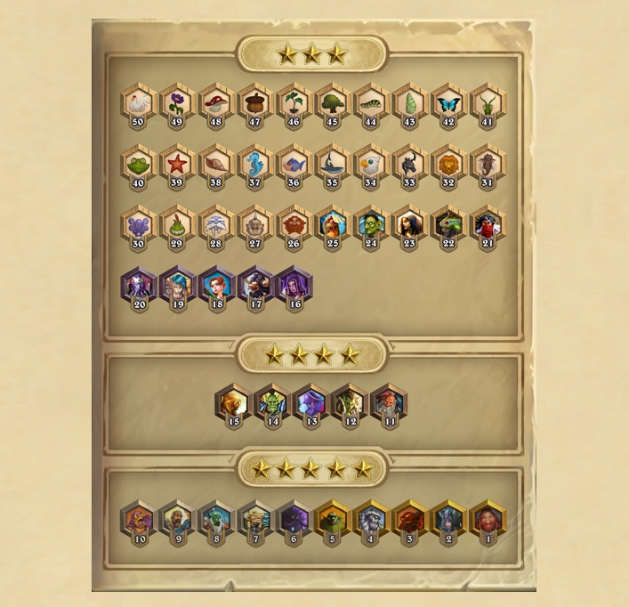 Hearthstone's new Stars system