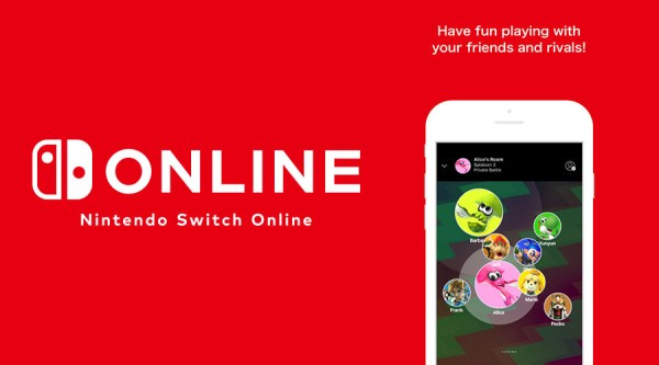 switch nintendo online app