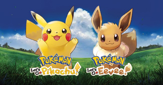 Pokemon Let's Go Pikachu and Let's Go Eevee