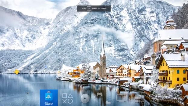 4k Scenic Winter Dynamic Theme