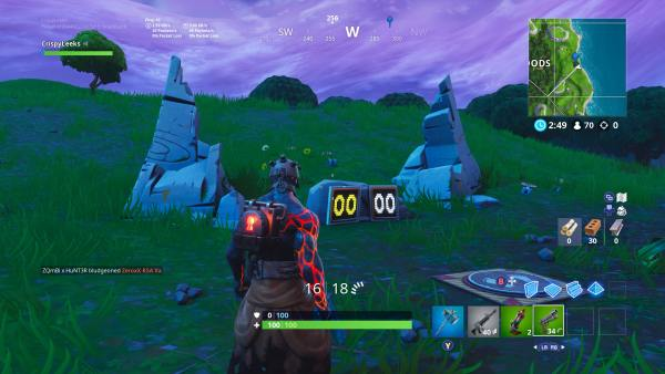 Fortnite shooting gallery locations week 10