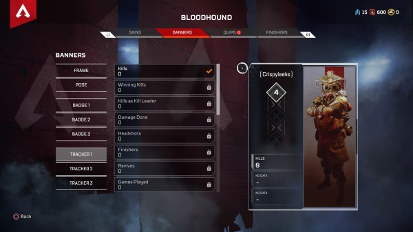 Apex Legends: How to Check Kill/Death Ratio (KD Ratio)