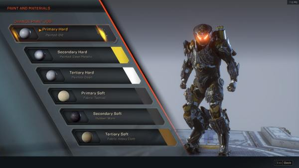 Anthem: How to Change Javelin Color