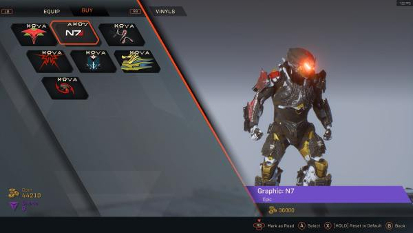 How to Get Mass Effect N7 Javelin Skin in Anthem