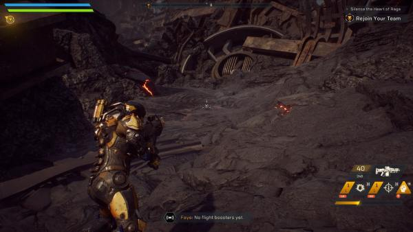 how to use ultimate ability, anthem
