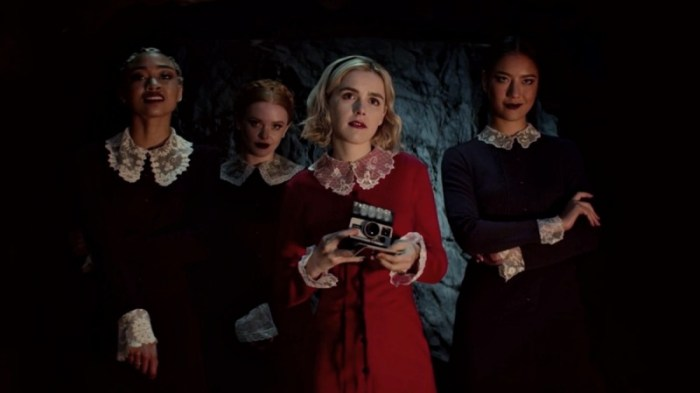 Chilling Adventures of Sabrina, Netflix, Binge Watch Shows 2019