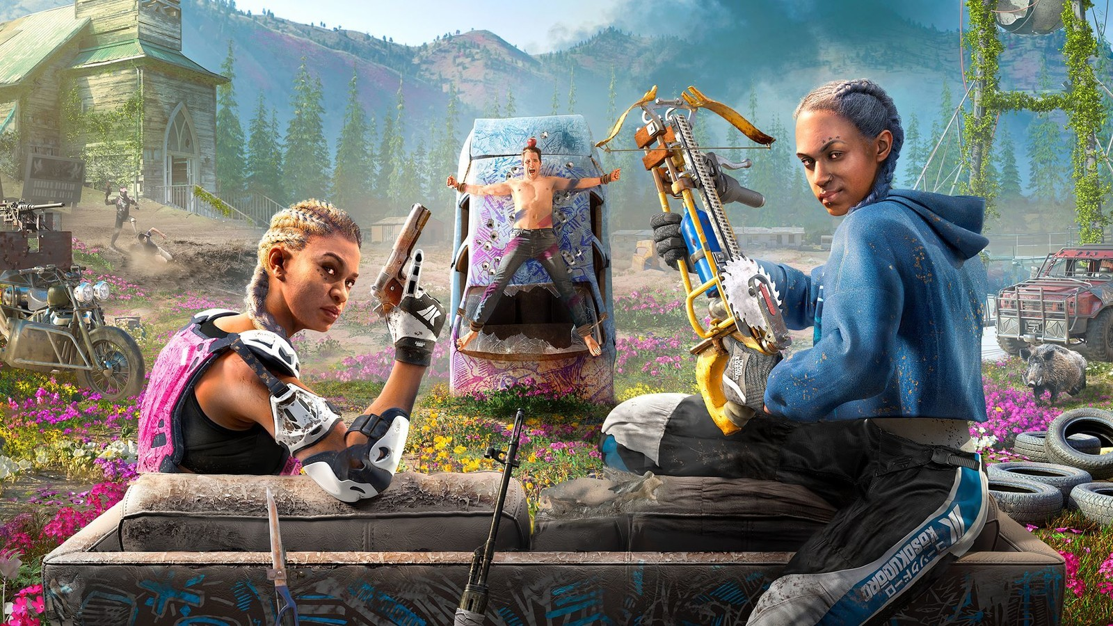 Far Cry New Dawn How To Get All Guns For Hire