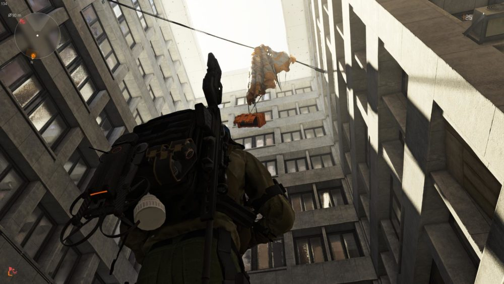 orange boxes, division 2, airdrop