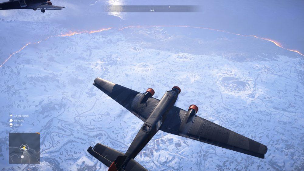 Firestorm, map size
