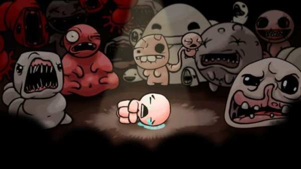 binding of issac, ps4 couch co-op
