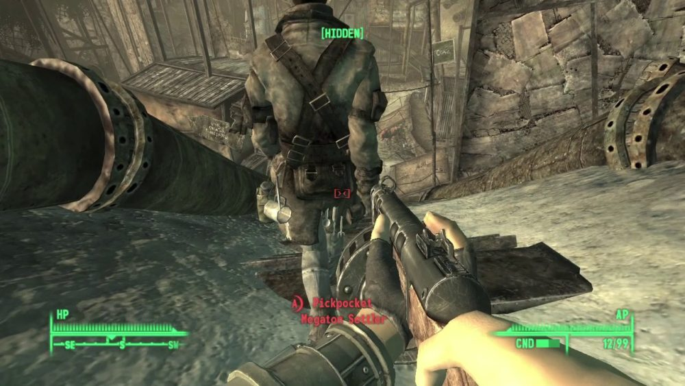 Fallout 3, Psychotic Prankster, Trophies and Achievements