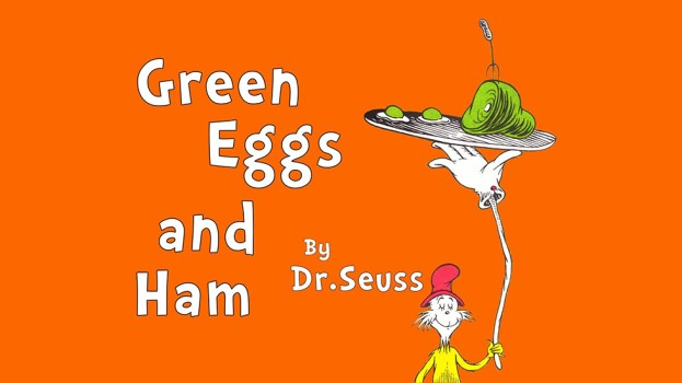 Green Eggs and Ham (Fall 2019)