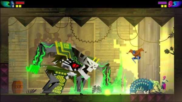 guacamelee, ps4 couch co-op