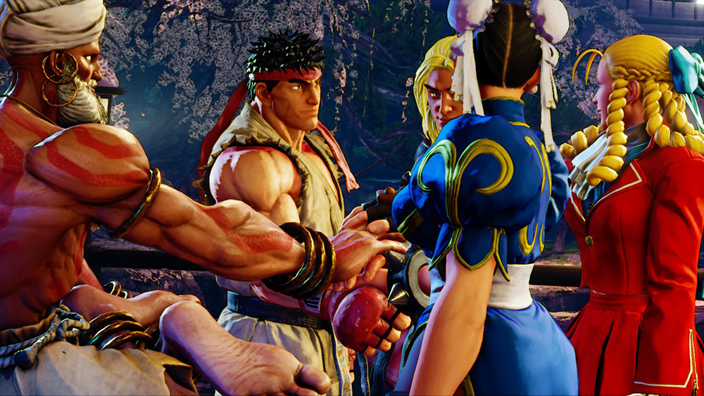 street fighter V, capcom, fighter, games like mortal kombat 11