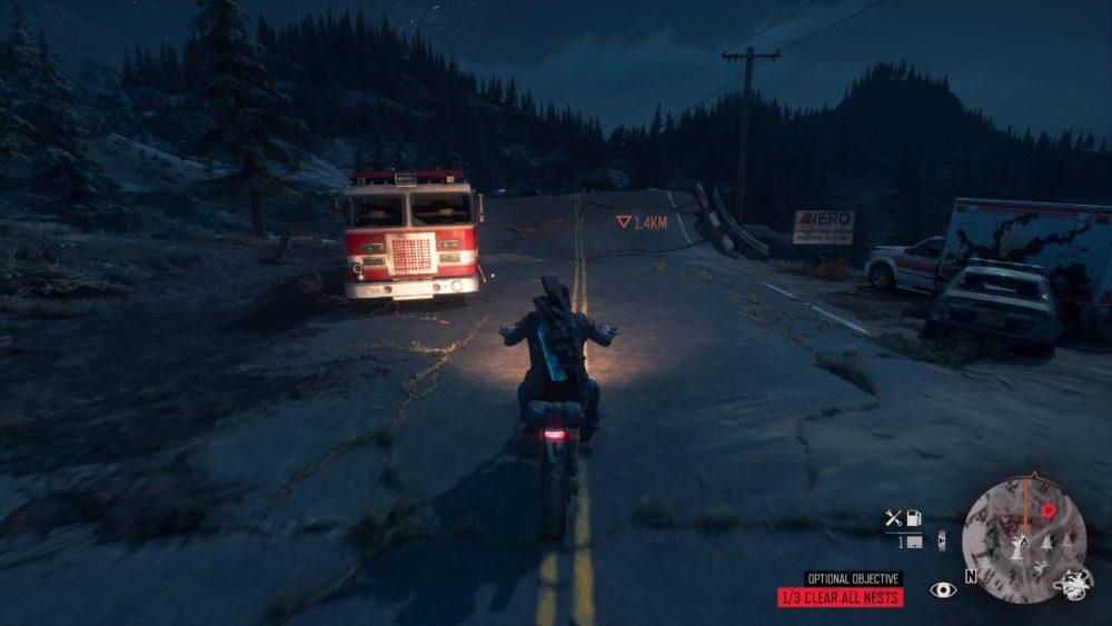 days gone, motorbike