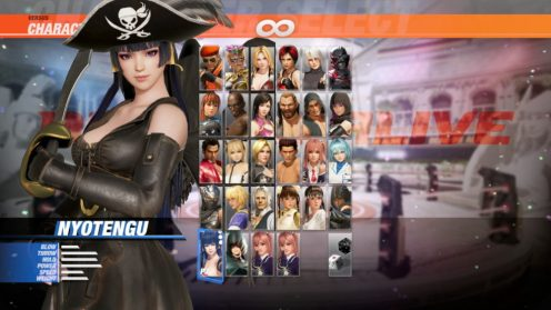Dead or Alive 6 Pirate DLC (15)