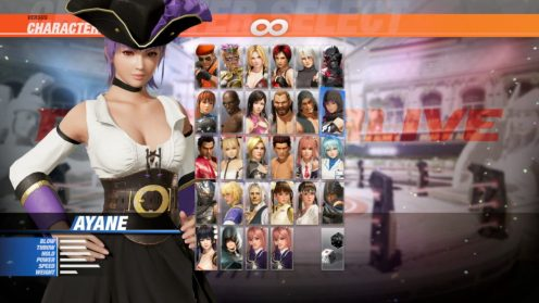 Dead or Alive 6 Pirate DLC (25)