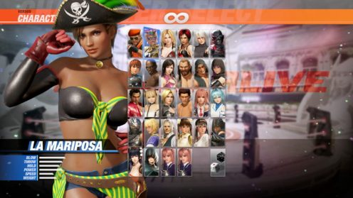 Dead or Alive 6 Pirate DLC (3)