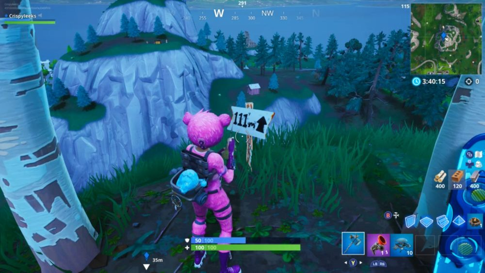 What Are The Highest Pionts In Fortnite Fortnite Where The Highest Elevation Points Locations Are Season 8 Week 6 Challenge
