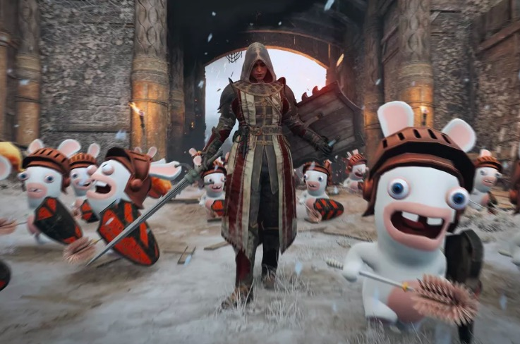 rabbids, for honor, ubisoft