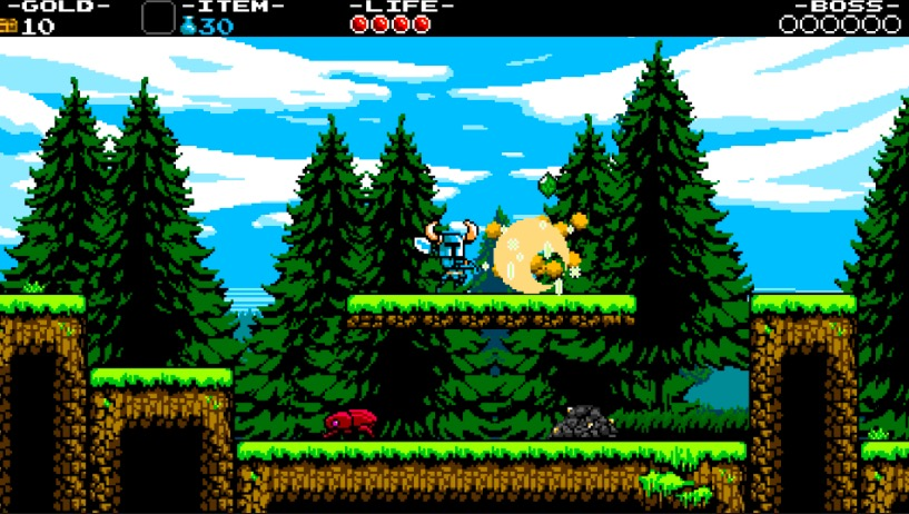 shovel knight, best platformers