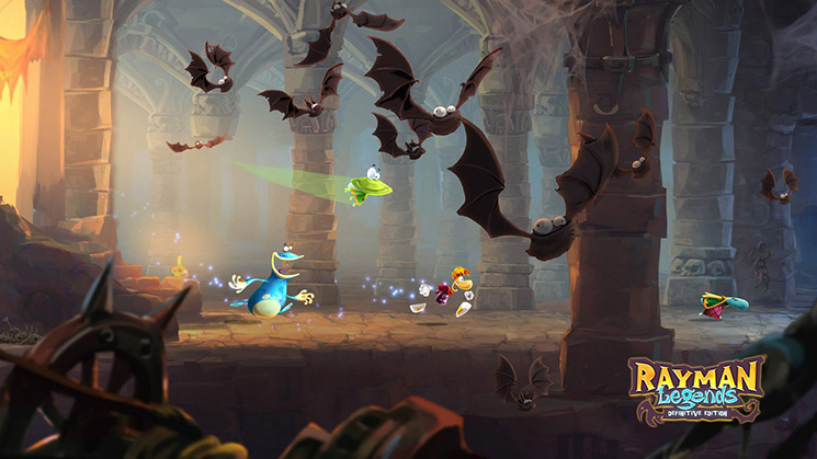 rayman legends, switch, ubisoft