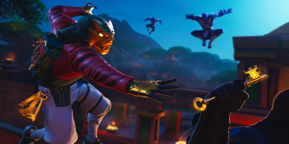 fortnite season 8 week 6 loading screen