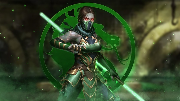 jade, mortal kombat