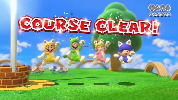 9. Super Mario 3D World