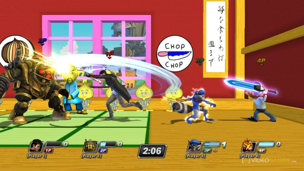 crossover, playstation all-stars battle royale