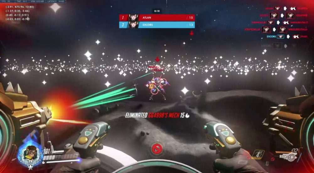 space simulator Overwatch Workshop game mode