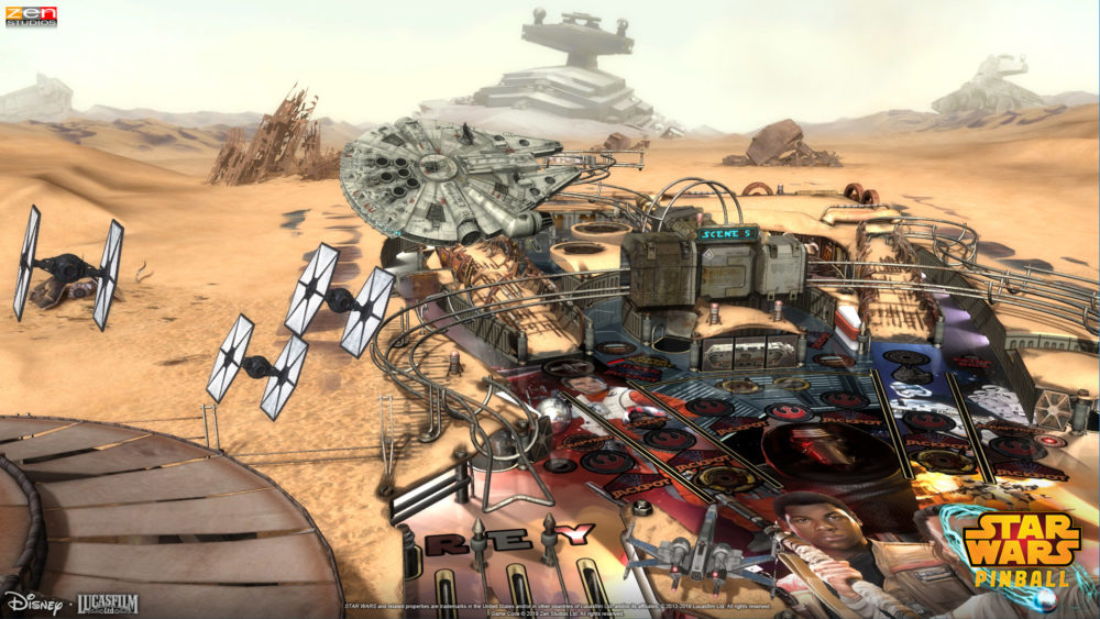 Star Wars Pinball Coming to Switch Sept. 13, Launching with All Tables