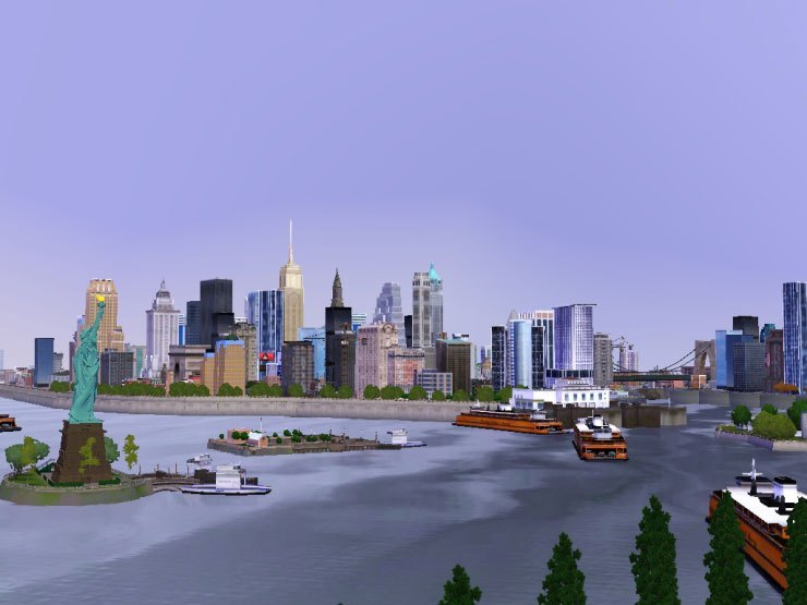 the sims 3 best worlds, new york city