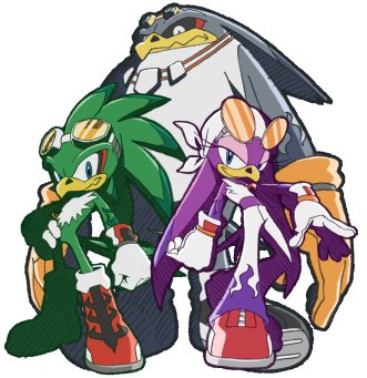 team sonic racing, roster, characters, deserve