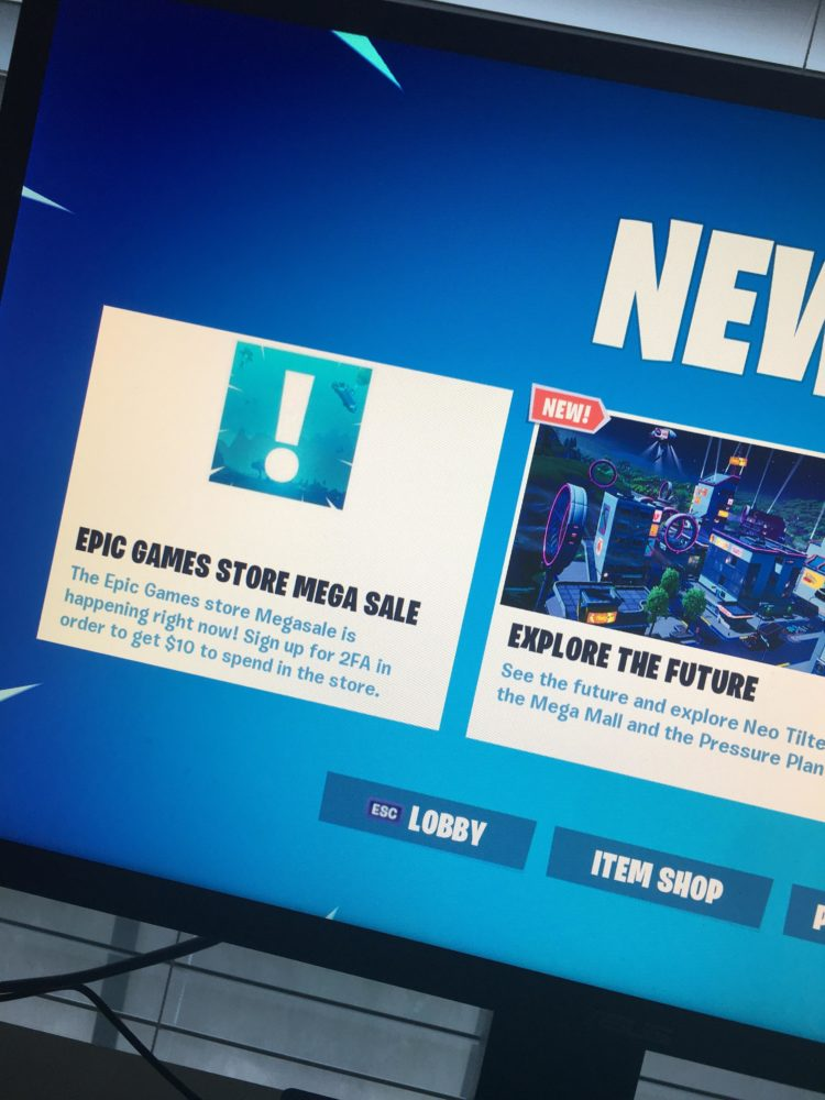Fortnite Leaked an Epic Games Store Sale Before it Was Confirmed