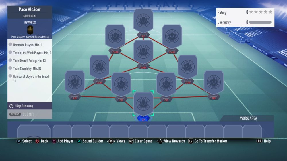 FIFA 19, alcacer sbc