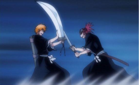Renji & Ichigo (Bleach)