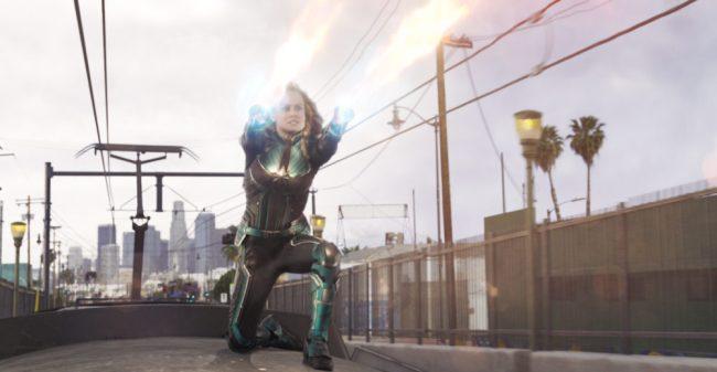 8) Captain Marvel