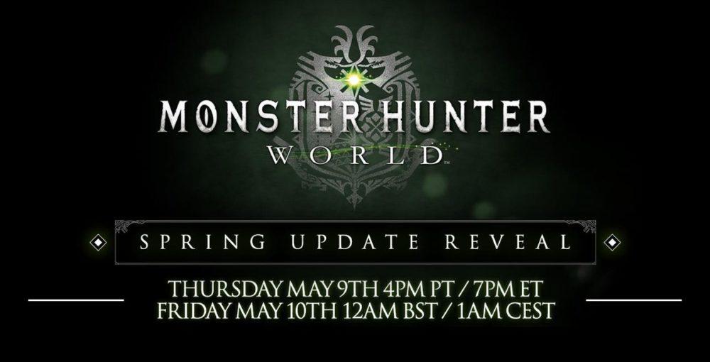 monster hunter world, spring update, reveal