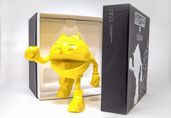 new pac-man figure