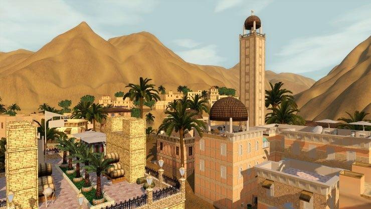 the sims 3 custom worlds