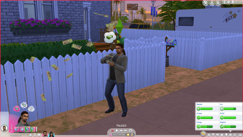 sims 4, mods, lottery