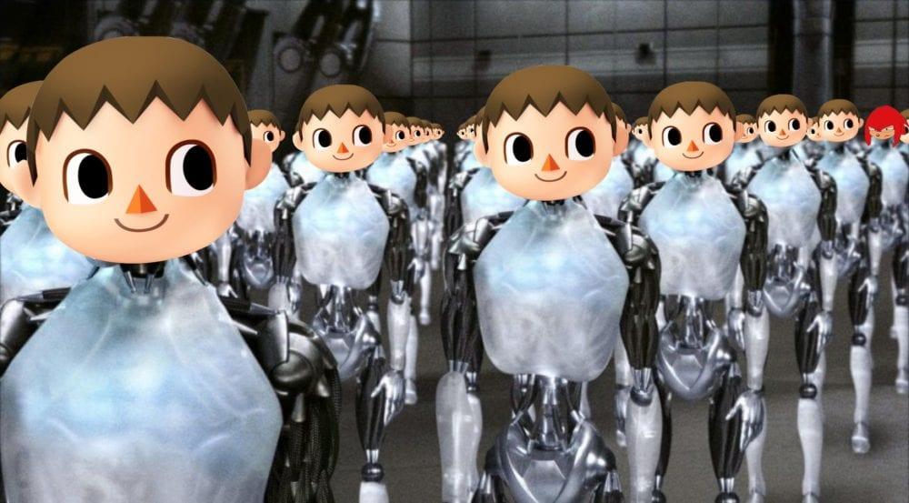 Villager robot