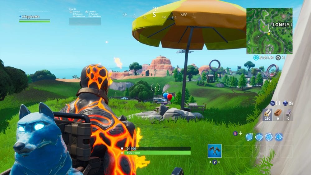 fortnite party balloon