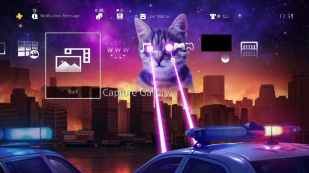 Monster Laser Cat