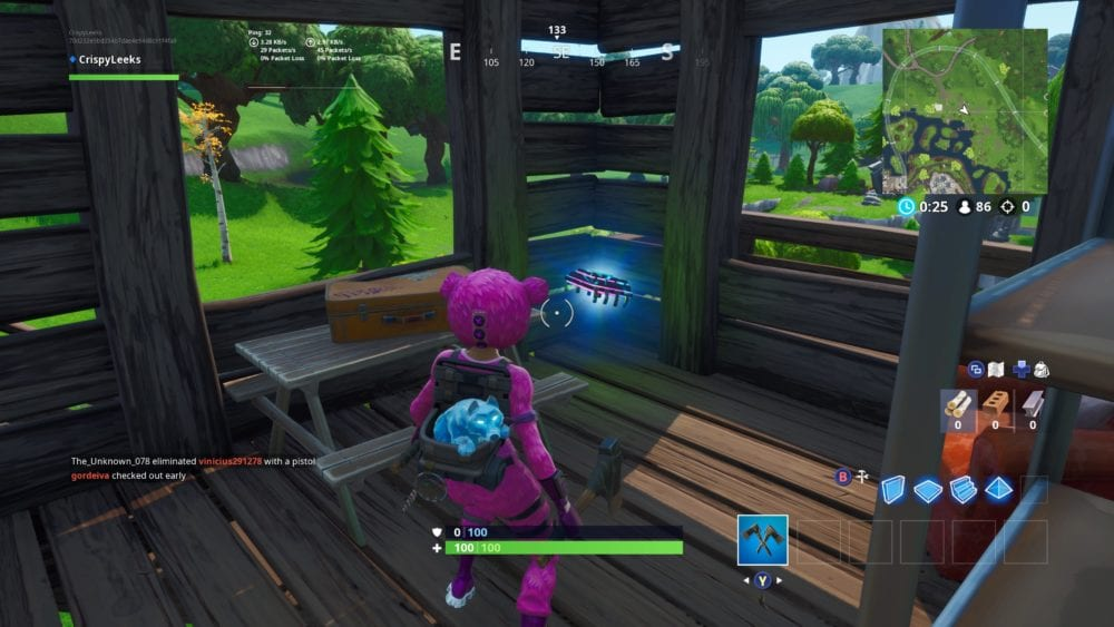 fortnite fortbyte 76 location