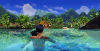 Sims 4 Island Living: How to Become a Mermaid & Change Back