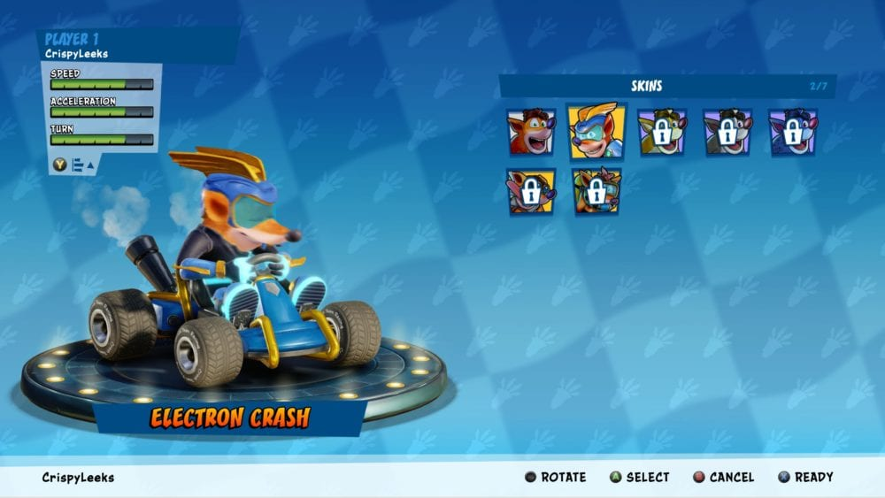 how to get electro skin preorder dlc in crash team racing nitro fueled